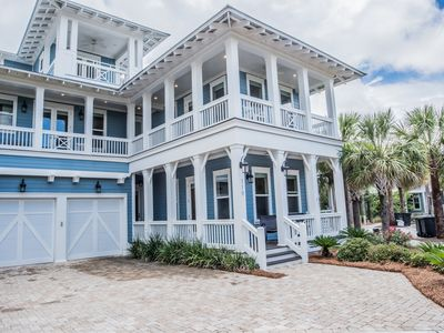Photo for Footprints In The Sand, 30A Cottages, Lagoon Pool, Nature View, 4 bikes, Call for Fall Dates!
