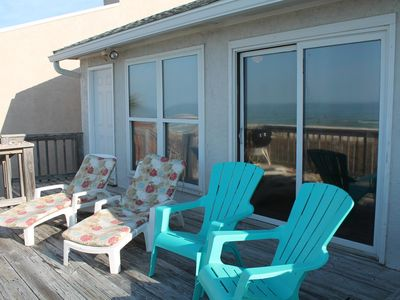 Photo for Ocean Front Townhome ( sm. dog friendly)