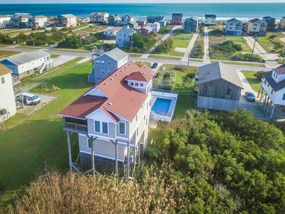 Photo for Just For You   988 ft from the beach   Dog Friendly, Private Pool, Hot Tub   Nags Head