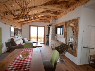 Photo for Dream apartment - Hochrindl-Alm 6 pers. - with sauna, valley view, fireplace, ski