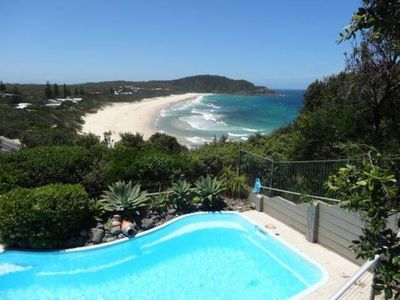 Photo for Blue Horizon ~ Whale watching from living area! ~ Pool ~ World Class Beach Views