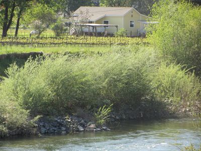 Photo for Wine Country Home On 5 Acres Right By The Russian River