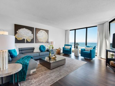 Photo for Stunning oceanfront condo at Edgewater Sleeps 8