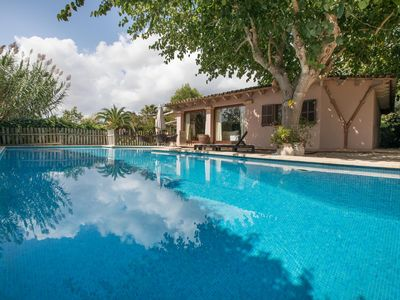 Photo for Country house finca with private pool - in the northwest of Mallorca