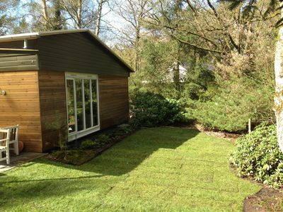 Photo for Sunny and light house on a forest park large garden with lots of privacy