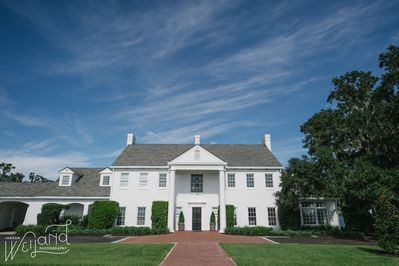 The Main House at Adams Estate is sought after for weddings and special events.