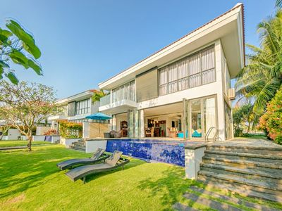 Photo for 4 Bedroom Private Pool Villa next to the two best golf courses in Danang