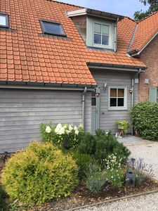Photo for HARDELOT CHARMING BEACH VILLA STYLE COTTAGE 60M ² WITH TERRACE AND GARDEN