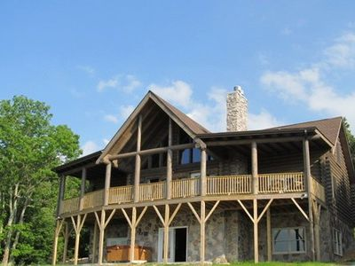 Photo for Highland Mist ~ Pet Friendly, Views, Hot Tub, Game Tables