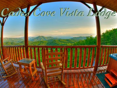Photo for Cades Cove Vista Lodge - Sleeps 6