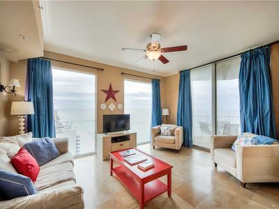 Photo for Stay on the Shore AND Explore! Upscale Beachfront Condo Includes Exclusive Bonuses