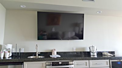 Large Flat Screen TV!