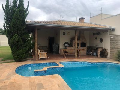 Photo for house with pool and air conditioning in all accommodations