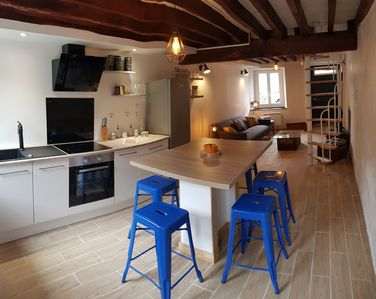 Photo for Village House, 3Chbres, 2-7pers, Garden, Spa, Parking, Wifi