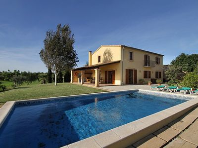 Photo for New Traditional Style Majorcan Country House with Private Pool, Air Conditioning !