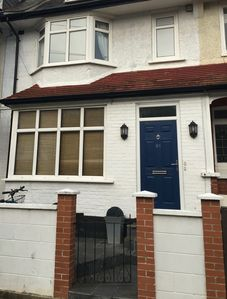 Tooting Broadway South London large patio garden and free on street parking