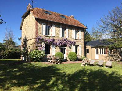 Photo for 5BR House Vacation Rental in Merville-Franceville, Normandie