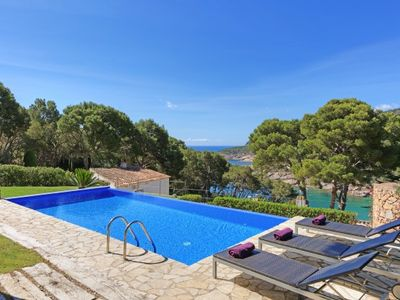 Photo for 4 bedroom Villa, sleeps 8 in Tamariu with Pool, Air Con and WiFi