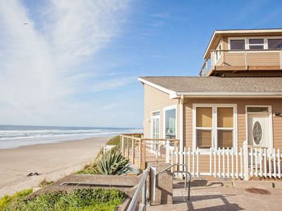 Photo for Huge, Luxury Oceanfront Home has Two Great Rooms for Large Groups!