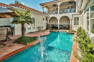 Pearl of Destiny - Private Pool and Patio Area
