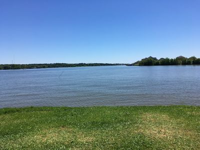 Photo for Beautiful 2 Bedroom 1 1/2 bath Air Conditioned 2016 RV located on Lake Conroe