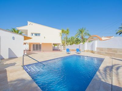 "Photo for Villa a short walk away (473 m) from the ""Cala Calalga"" in Calp with Internet, Parking, Terrace, Washing machine (503765)"