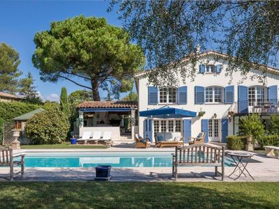 Photo for Holiday house Mougins for 1 - 8 persons with 4 bedrooms - Holiday house