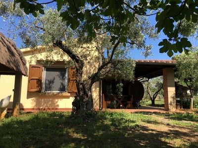Photo for Collemezzano Villetta I Ciliegi giardino recintato - House for 4 people in Cecina