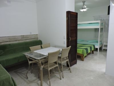 Photo for 1 bedroom apartment for up to 6 people - 2 blocks Praia Grande Ubatuba