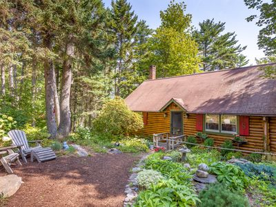 Photo for Cozy 1BR Sprucewold Log Cabin w/ Screened Porch, Beach Access
