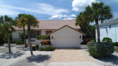 Photo for Sunset Hideaway: Charming Pool Home in Beachview Estates Close to Beach Path!