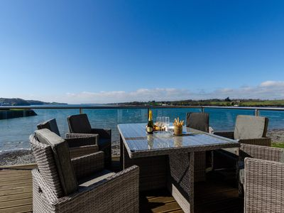 Photo for Sitting right on the Wales Coast Path and boasting fabulous waterside views over the Menai Straits,