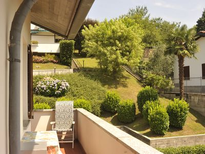Photo for Spacious Home apartment in Bellagio with WiFi, air conditioning & balcony.