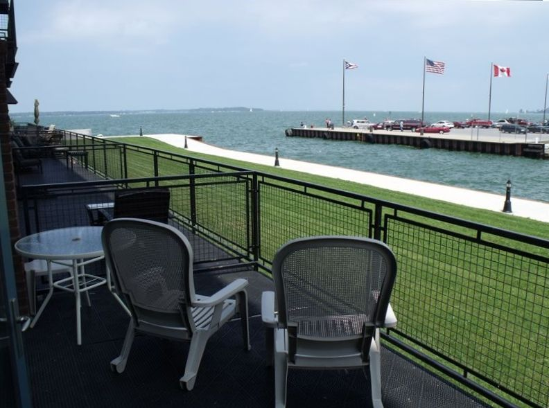 View Of Sandusky Bay From Large Private Balcony