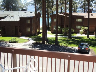 Photo for Steps to Private Beach, Minutes to Skiing, Golf, Casinos, Restaurants, Shoping