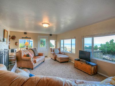 Photo for Oceanfront Single-Level Has Spectacular Views of Sea and Sand from Every Room!