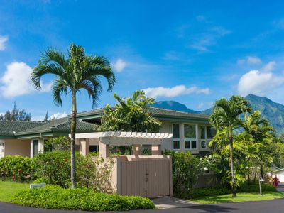 Photo for Breezy villa w/ golf-minutes from beach & Hanalei Wildlife Refuge