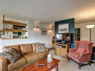 Photo for Mountain condo with three shared pools, hot tub, tennis courts, game room, & gym