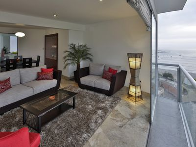 Photo for Huge Flat, Spectacular View On Lima Bay, Calm, Secure Neighbourhood, Centric
