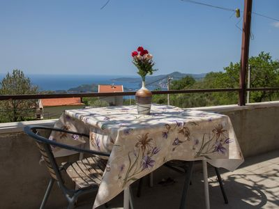 Photo for 1BR apartment with sea view near Sveti Stefan