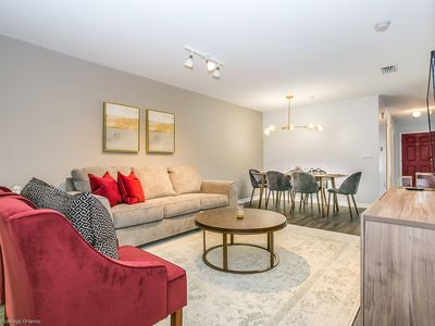 Photo for Near Disney World - Club Cortile - Amazing Cozy 3 Beds 2 Baths Townhome - 5 Miles To Disney