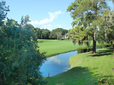 Photo for On the Harbour Town Golf Course, 2 bedroom Townhouse--Bike or Drive to beach--179 Twin Oaks