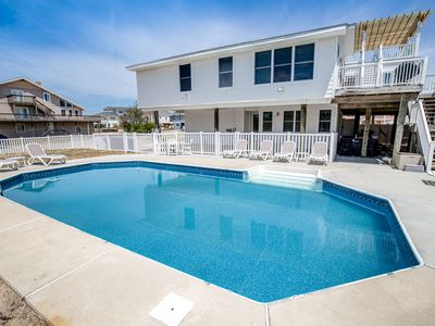 Photo for RVAcation | 98 ft from the beach | Private Pool, Hot Tub