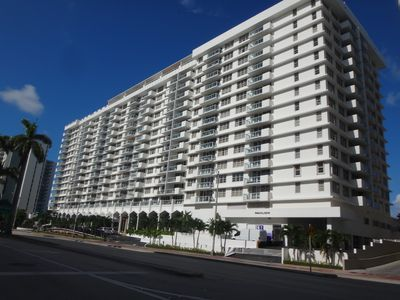Photo for DIRECT OCEAN FRONT ,TOTALLY REMODELED CONDO. 1 FREE PARKING SPACE PER UNIT.