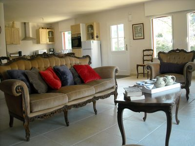 Photo for Comfortable Breton cottage 8p. near the river 800m from the village
