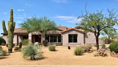 Photo for North Scottsdale Oasis/Resort Home in Gated Community W Heated Pool and Hot Tub