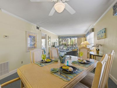 Photo for Sand Pointe 111, 2 Bedroom Corner Unit Condo, Gulf View Overlooking Pool
