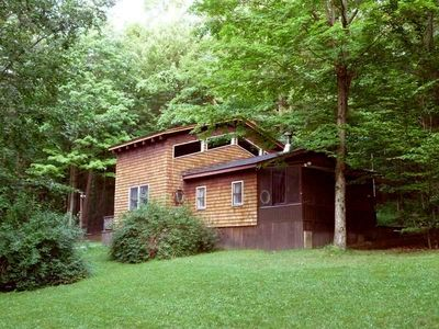 Photo for PA Wilds Mtn Cabin, 8 pvt acres in state forest, near Elk Herd & 2 State Parks