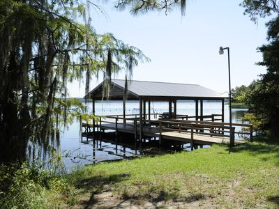 """Lakefront HOME on the """"BIG"""" water of Lake Seminole.   We Strive to be the Best!!"""