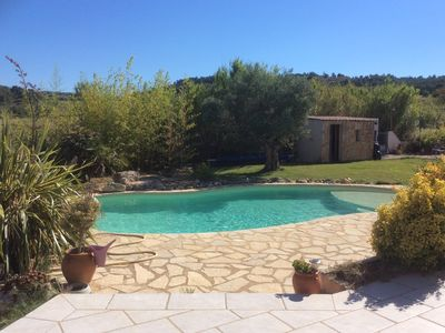 Photo for beautiful villa with pool 10 people ..